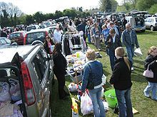 Ooo, Car boot sales sound like fun.  Let's do it!  No more wandering around the city to individual garage sales!