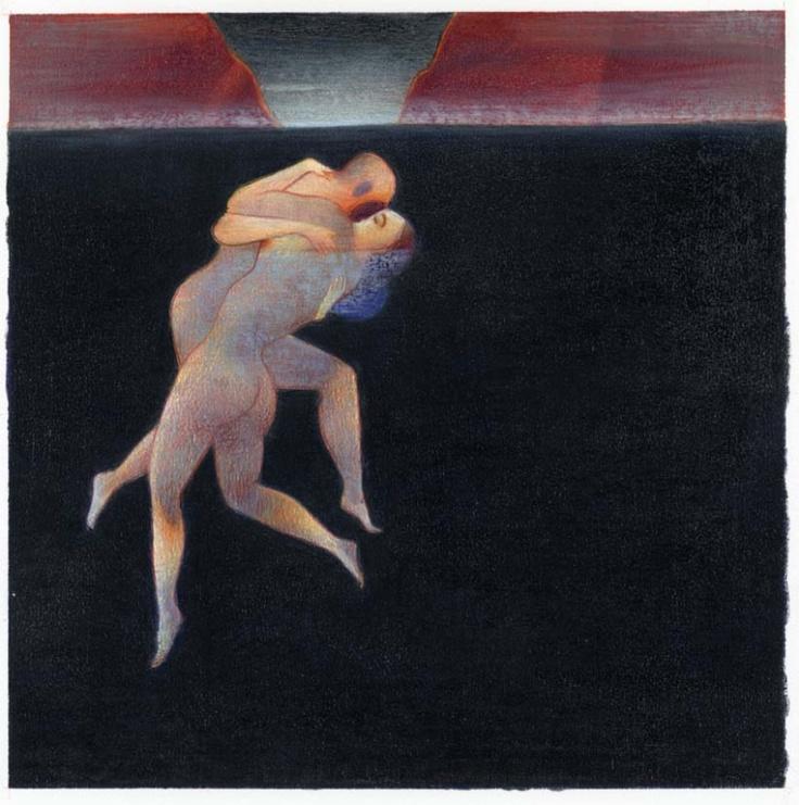 Lorenzo Mattotti, Nell'acqua [Underwater]