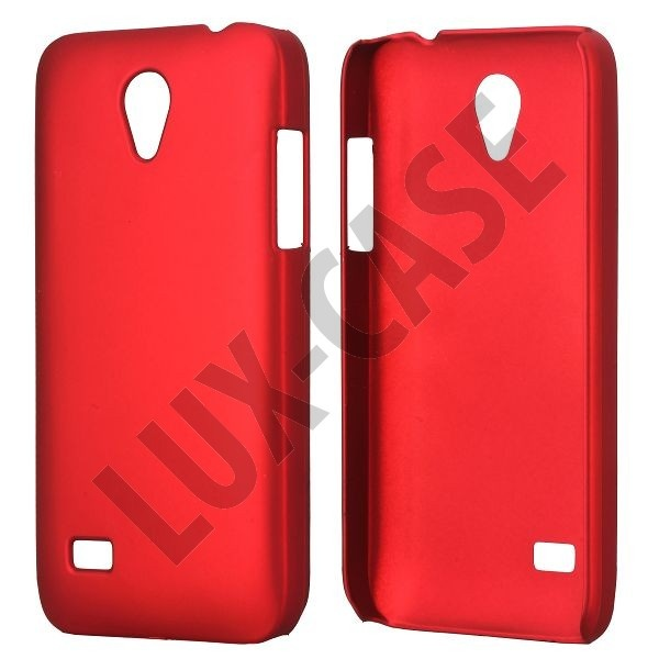 Hard Shell (Rød) Huawei Ascend G330D Cover