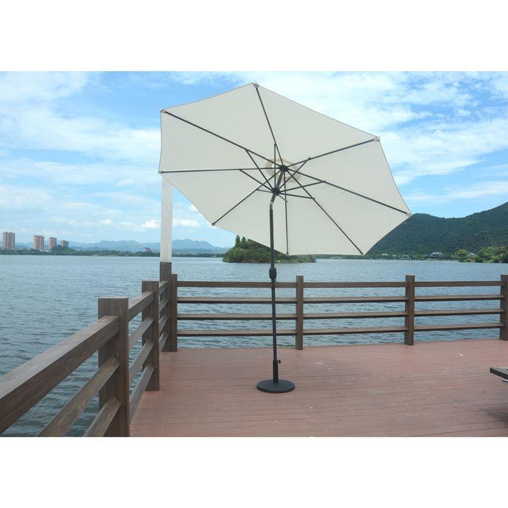 Direct Wicker Steel Market Umbrella-