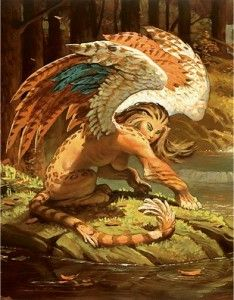 pictures of mythical flying creatures | Fantasy Influences: Ancient Greek Mythology – Part One