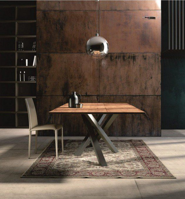 Les 25 meilleures id es de la cat gorie table inox sur - Table en acier inoxydable ...