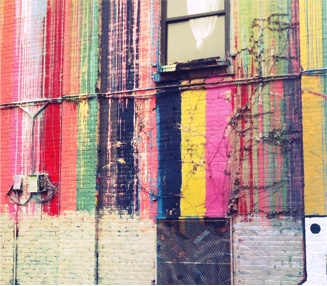 wall: Wall Art, Building, Art Illusions, Urban Art, Art Design Ads, Street Art, Vibrant Colors, Art Wall, Brooklyn