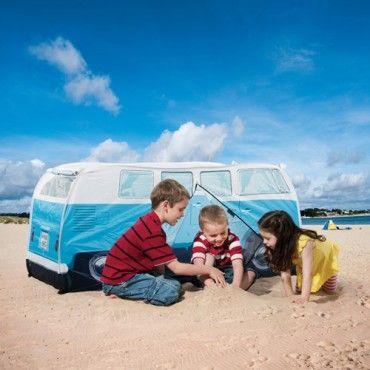 VW Kids Camper Tent - Blue - Milan Direct
