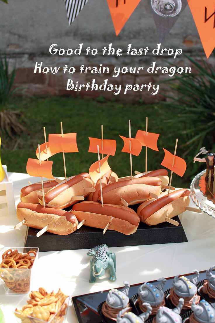 How to train your dragon Birthday party                                                                                                                                                     More