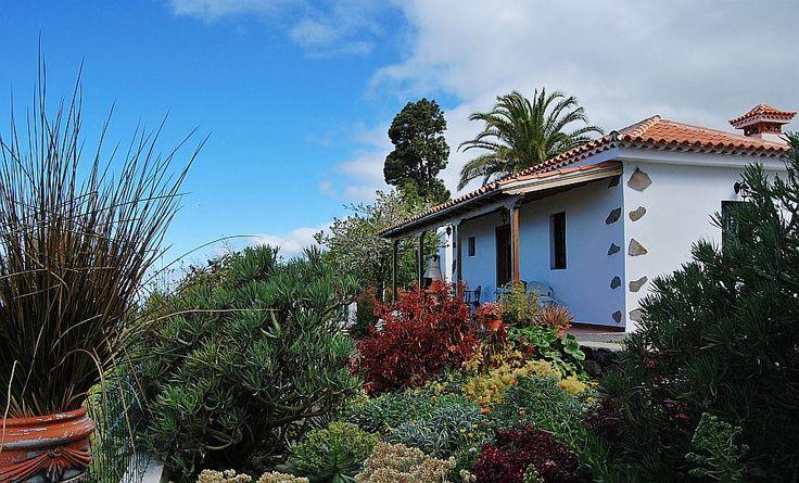 Vakantiehuisje Palmeras, groots oceaanzicht vanaf de veranda.