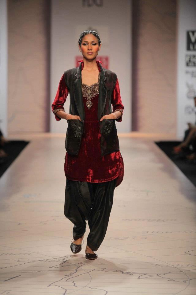 Anju Modi WIFW A/W 2012