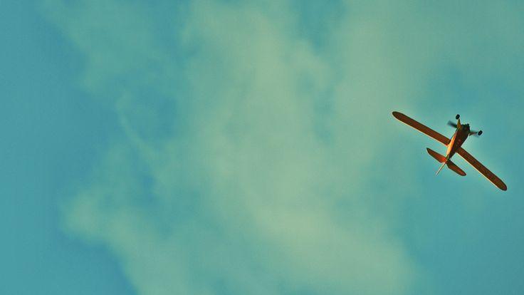 Clouds and Model Airplane - thetemenosjournal.com