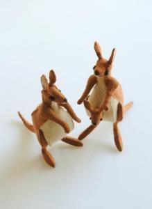purl soho | products | item | small animal felt kits (sunfelt handicraft)