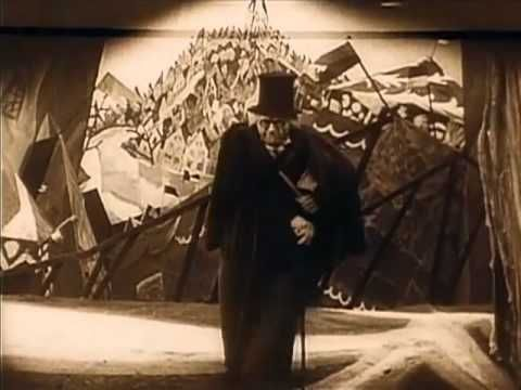 The Cabinet of Dr. Caligari (1920) - Music editing by elafini (intro) - YouTube
