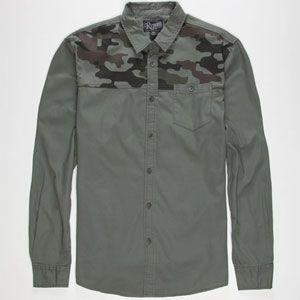 RETROFIT Cap'n Camo Mens Shirt