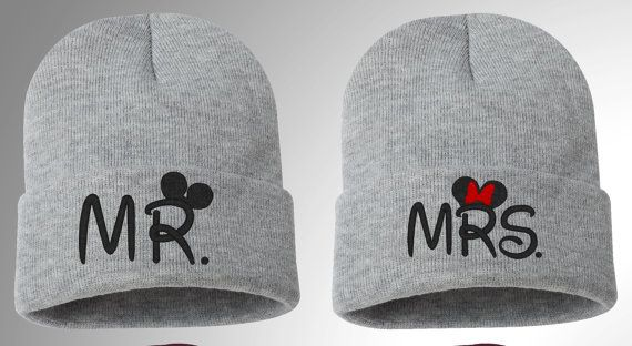 Mickey - Minnie, Mr. and Mrs., Disney Figure PERFECT COUPLE Beanie on Etsy, $28.64 AUD