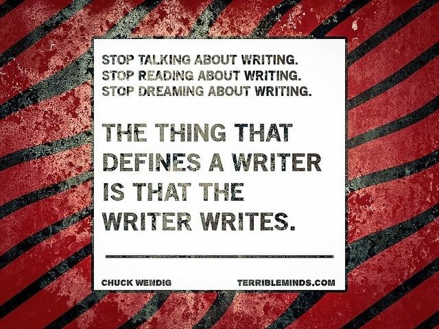 #writing #inspiration