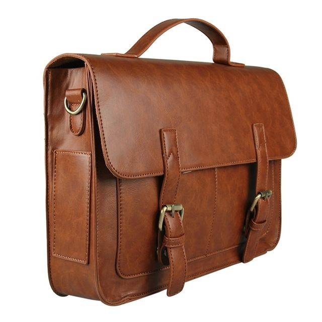 【 $29.22 & Free Shipping / Coupons 】Ecosusi Vintage Men Messenger Bags Brand Satchel briefcases office crossbody | worth buying on AliExpress