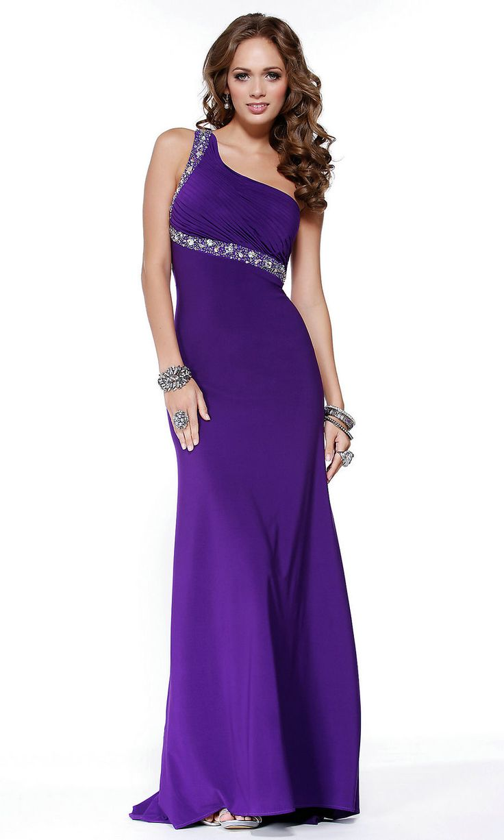 14 best Purple Evening Dresses images on Pinterest