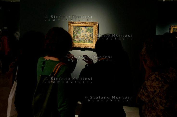 In Rome, the only European stop, for the first time the masterpieces of the Impressionist and Post Impressionist collection of the National Gallery of Art in Washington, the new exhibition Ara Pacis. The Battle of Love , by  Paul Cèzanne