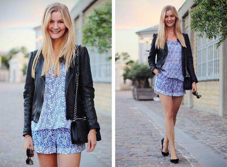 2015 bag/Chanel,   top/Oasis , shorts/jacket/Zara ), shoes/Zara