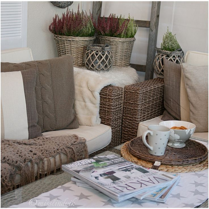 Høst, outdoorliving, rotting, interiør, misslindvik, myhome, veranda, lyng
