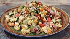 Summer Pasta Salad Recipe | The Chew - ABC.com - http://abc.go.com/shows/the-chew/recipes/summer-pasta-salad-the-chew
