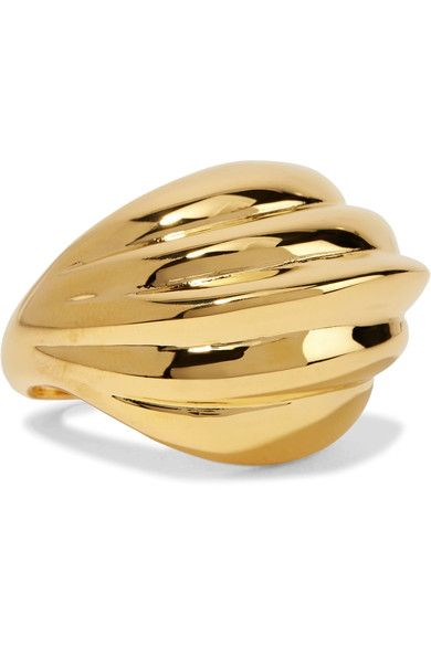 Kenneth Jay Lane - Gold-plated Ring - one size