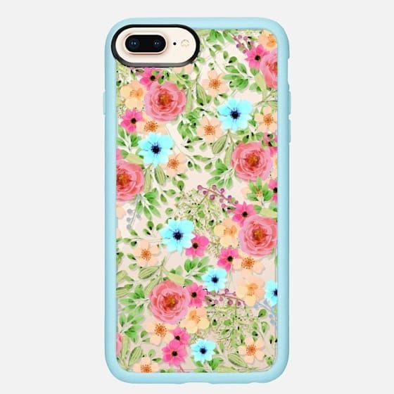Casetify iPhone 8 Plus Classic Grip Case - Bageecha iPhone and iPod Case by Uma Gokhale