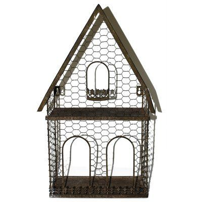 Blossom Bucket Triangle House Bird House Planter 1025 x 1925 <3 This is an Amazon Associate's Pin. Click the image to view the details on Amazon website.