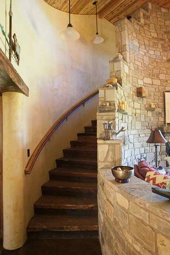 Straw Bales The Loft And Stairways On Pinterest