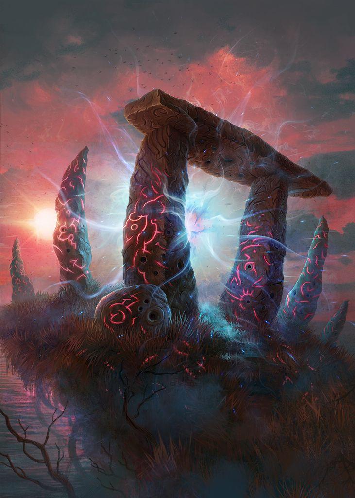 Twilight Gate by KoTnoneKoT.deviantart.com on @DeviantArt