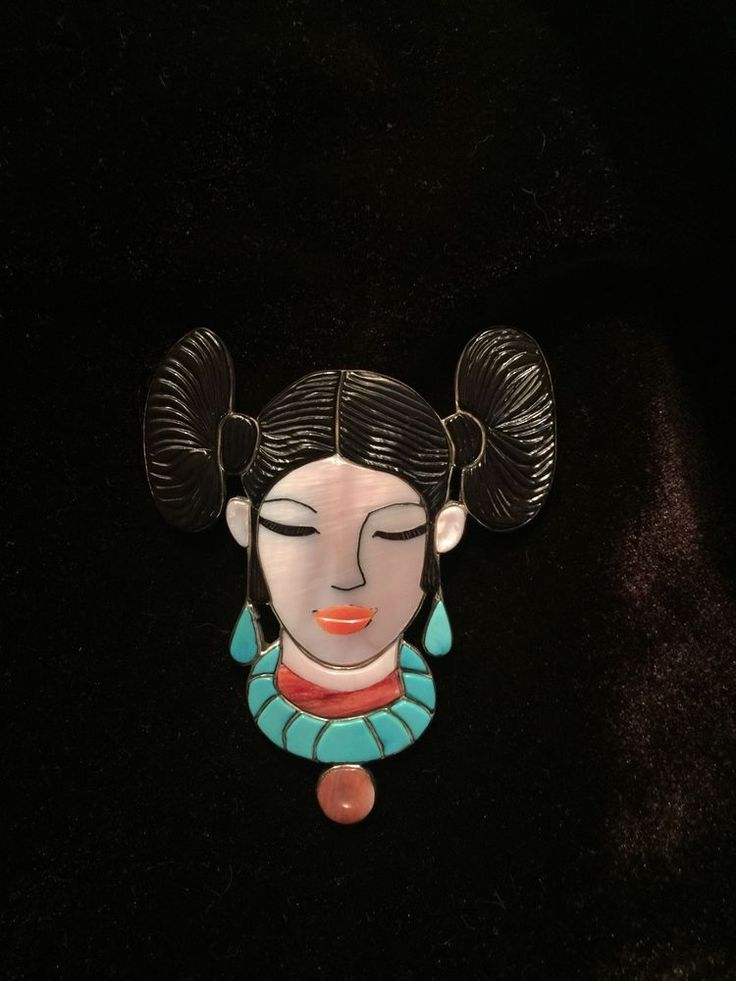 Southwestern Pin, Indian Princess