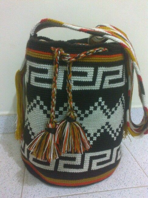 Mochila Wayuu para hombres