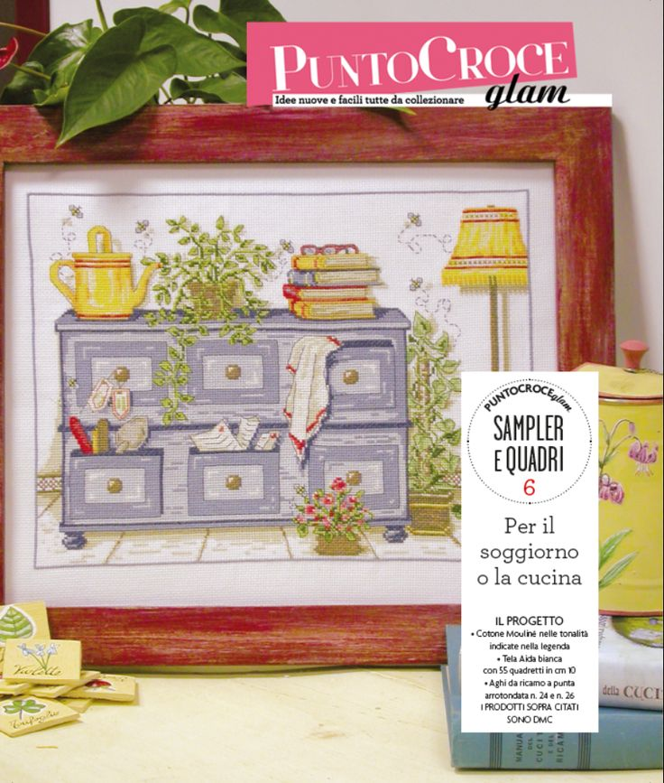 43 best images about sampler e quadri punto croce glam for Quadri per cucina