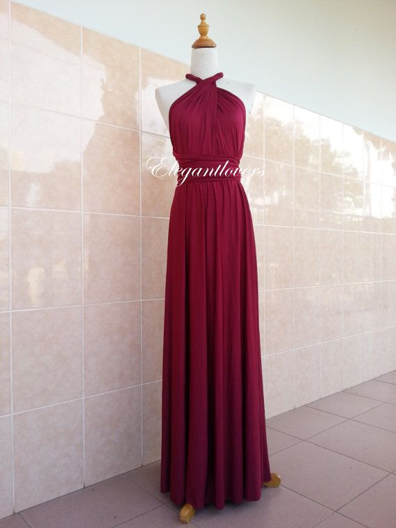 Best 25 Maroon bridesmaid dresses ideas on Pinterest