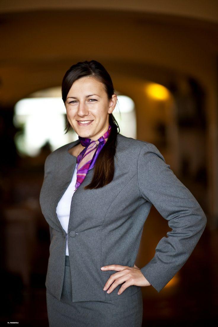 Sabrina, receptionist @ Mgallery VIlla Olmi