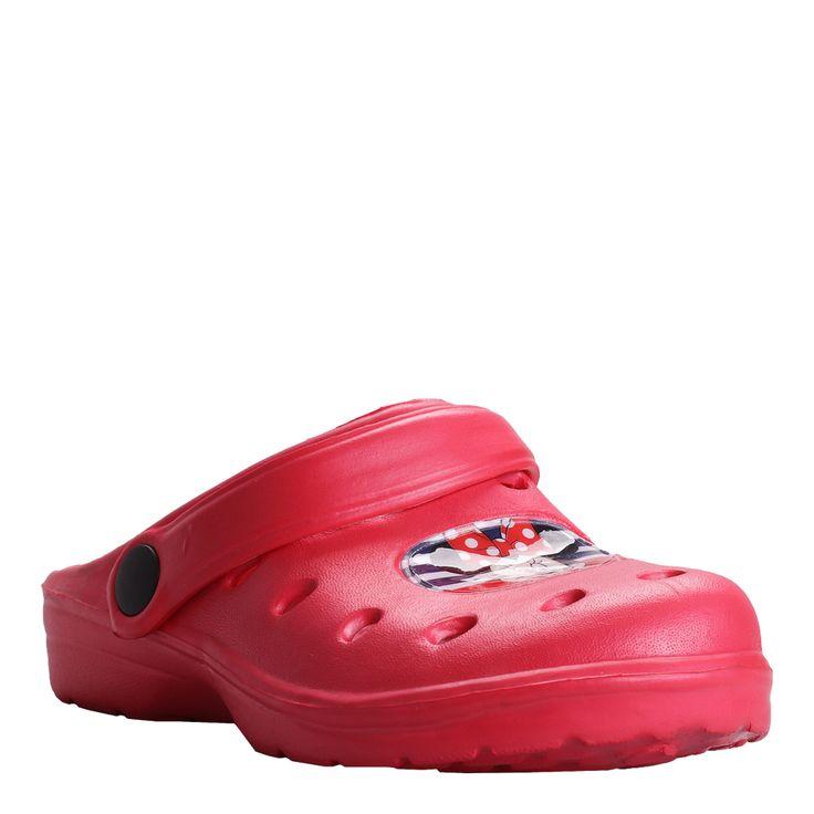 Saboti crocsi Fetite Minnie Mouse rosii