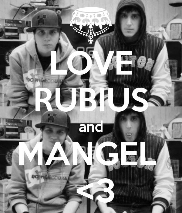 Love rubius and mangel <3