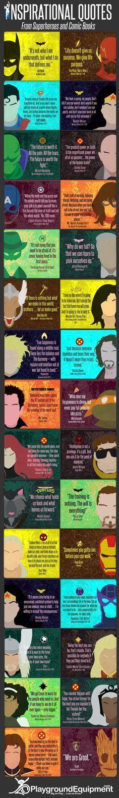 Inspirational Superhero Quotes - 9GAG