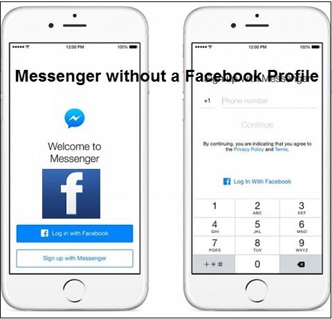 Now Access Messenger without a Facebook Profile