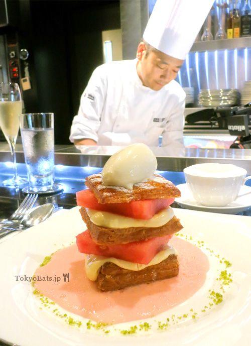 Toshi Yoroizuka top pastry chef in Japan.  Roppongi