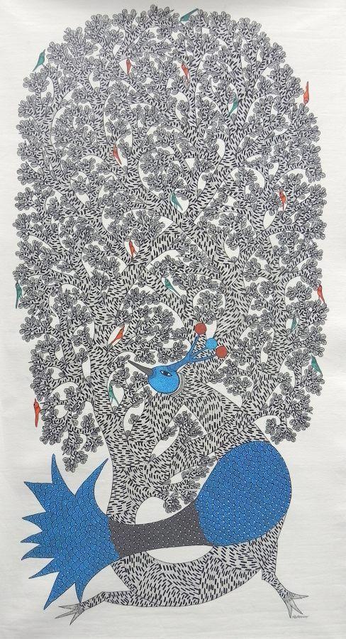 Gond Art - Dilip Shyam