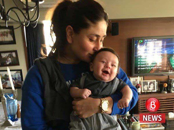 Get ready to melt. Presenting Taimur Ali Khan, with proud mommy Kareena Kapoor Khan