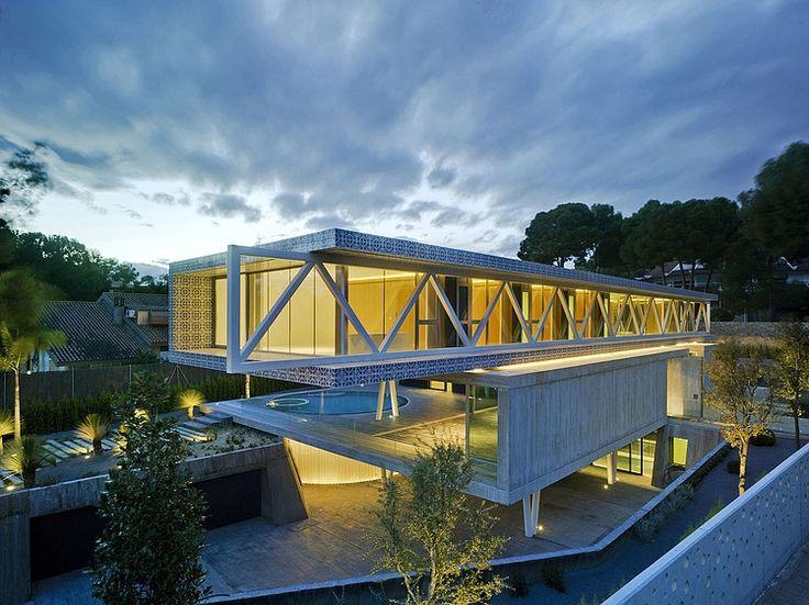 49 best terrazas images on pinterest residential - Clavel arquitectos ...