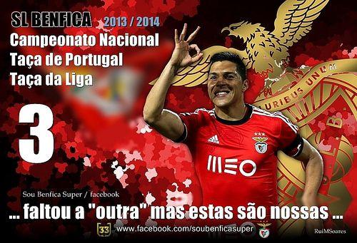 Campeões, Campeonato Nacional, Taça de Portugal, Taça da Liga