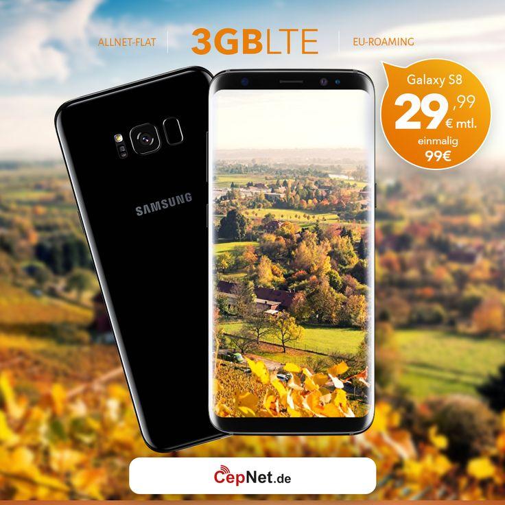 🔥🔥🔥 Samsung Galaxy S8 64GB mit günstigem ay yildiz Ay Allnet Plus Vertrag  👉👉 https://www.cepnet.de/smartphones/samsung/galaxy-s8/64gb-schwarz/ay-yildiz/ay-allnet-plus/?utm_source=cepnet_sosyal&utm_medium=sosyal&utm_campaign=galaxys8  ✅Telefonie-Flat* in alle dt. Handy-Netze  ✅Telefonie-Flat* ins dt. Festnetz  ✅Telefonie-Flat* ins türkische Festnetz  ✅Internet-Flat* 3 GB mit bis zu 21,6 Mbit/s (danach Drosselung auf 56 kbit/s)  ✅EU Roaming Flat** EU-weit surfen & telefonieren…