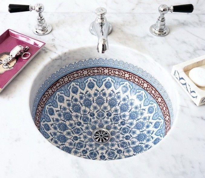 Оригинальный дизайн раковины для ванной