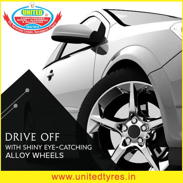 We offer wide range of alloy for all car wheels at affordable price. #AlloyWheels #Wheels #Ahmedabad