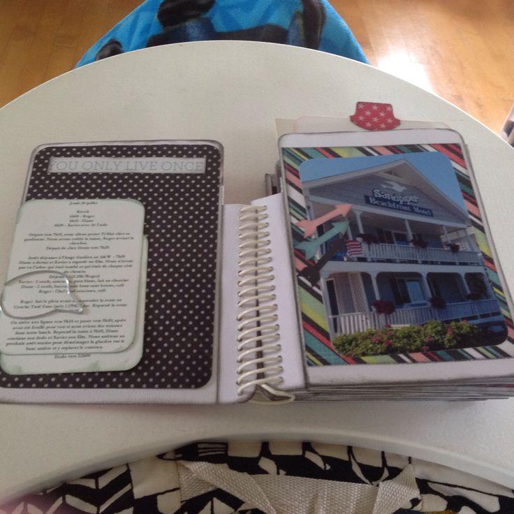 Mini album Vacances 2015 - pages
