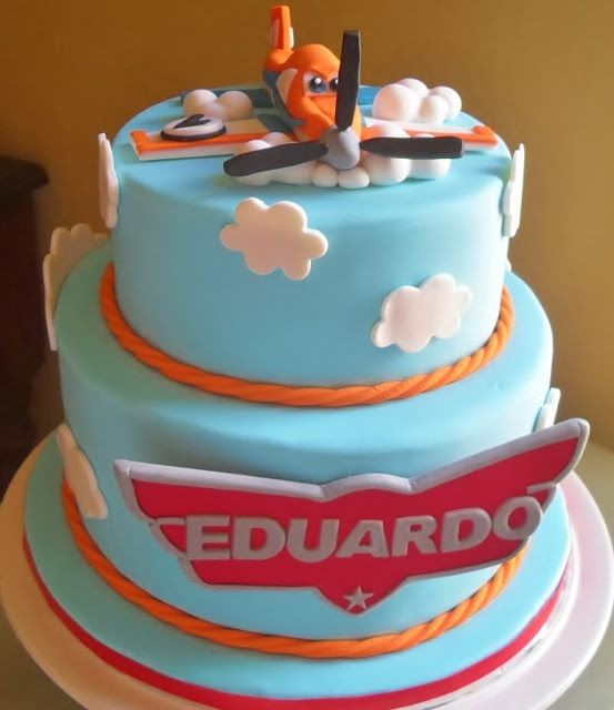 Aviones-Planes cake