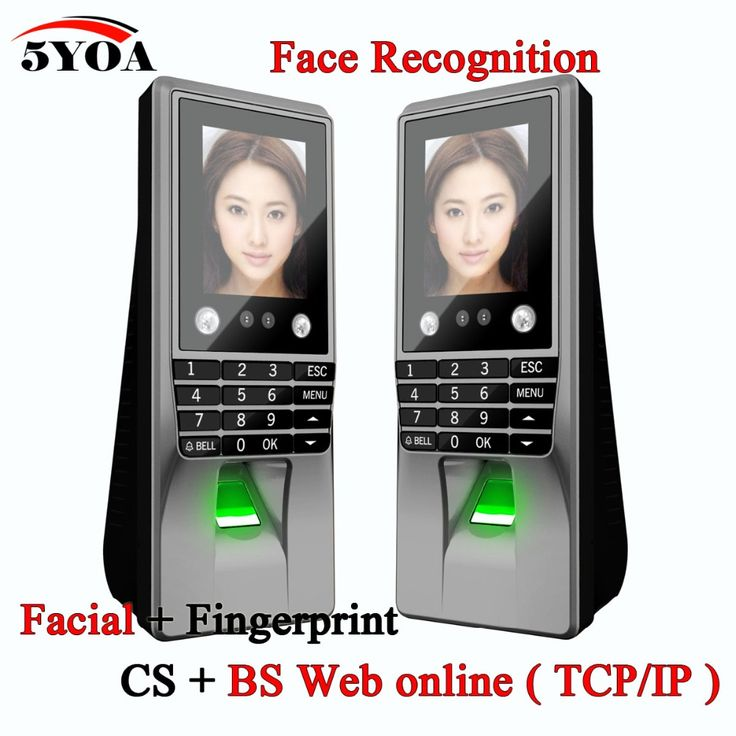 5YOA 5YBM10A Biometric Facial Face Fingerprint Access Control Time Attendance Machine Electric Sensor Code System Door Lock