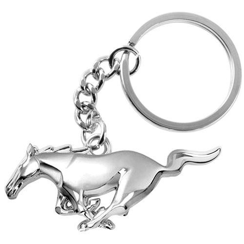 Ford Mustang 3D Pony Chrome Metal Key Chain - https://www.caraccessoriesonlinemarket.com/ford-mustang-3d-pony-chrome-metal-key-chain/  #Chain, #Chrome, #Ford, #Metal, #Mustang, #Pony #Enthusiast-Merchandise, #Ford