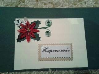 Boże Narodzenie - Christmas Zaproszenie